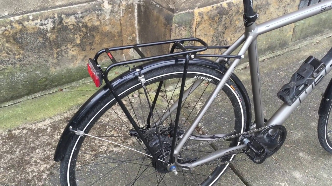 Tubus Fly Rack Disc Brakes Cosmecol
