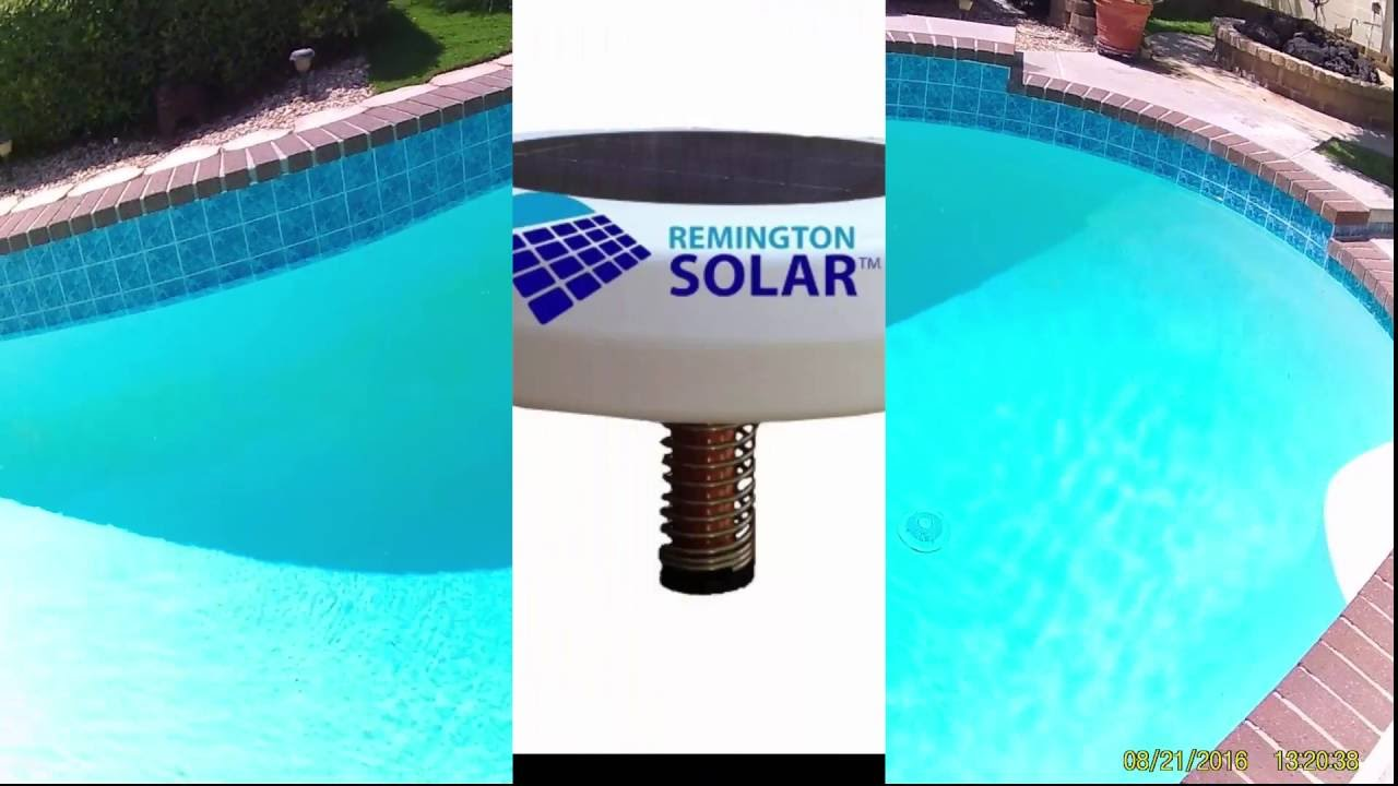 Remington Solar Pool Ionizer Review At 4 Weeks