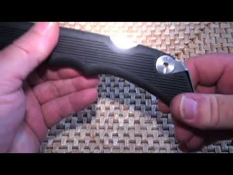 Snowbee Folding Filleting & Bait Knife Review by PMR