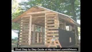 Howto Wood Storage Shed Plans