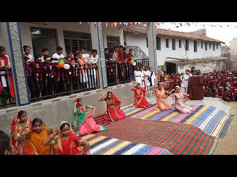 Rangeelo maro dholna dance performance by Asian Age Public S