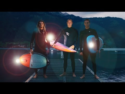 World's Most Extreme Nighttime Stunts in Switzerland!