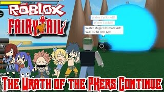 Roblox: Fairy Tail Online Fighting   The Wrath of the PKers Continue!