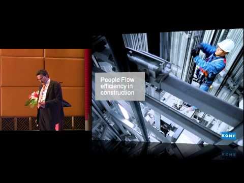 "CTBUH 2012 Shanghai Congress - De Jong, ""People Flow Solutions to Enhance Building Performance"""