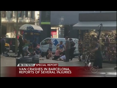 Breaking News: Van Plows Into Barcelona Crowd