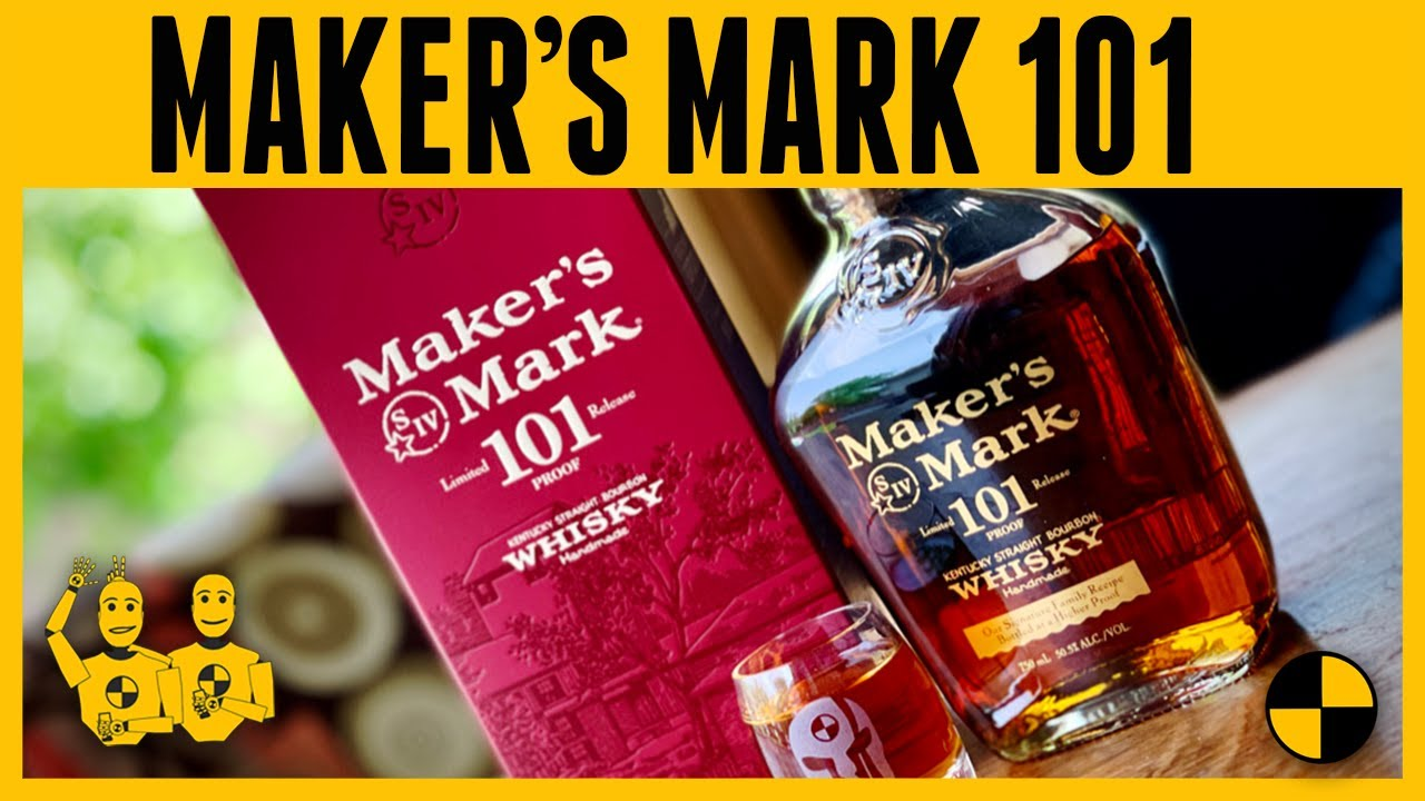 Maker's Mark 101....Kentucky Straight Bourbon Whisky
