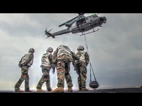 Marine Corps UH-1Y Venom Airlift Mission