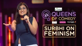 Surbhi on India, Feminism and Gymming   Queens of Comedy