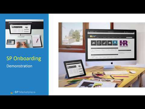 SP HR Onboarding demo on Office 365 / SharePoint