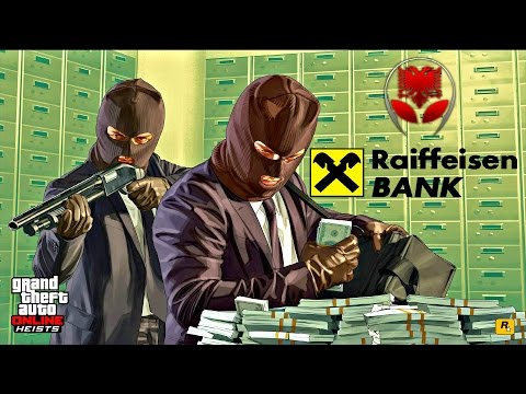 GTA 5 SHQIP - Vjedhja e Raiffeisen Bank !! - SHQIPGaming