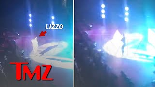 Lizzo's Microphone Issues Don't Stop Her from Jingle Jamming | TMZ