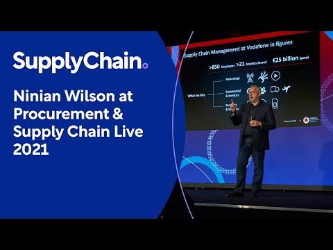 Ninian Wilson at Procurement & Supply Chain Live 2021