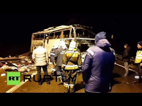 Крупное ДТП под Тулой, 7 человек погибли