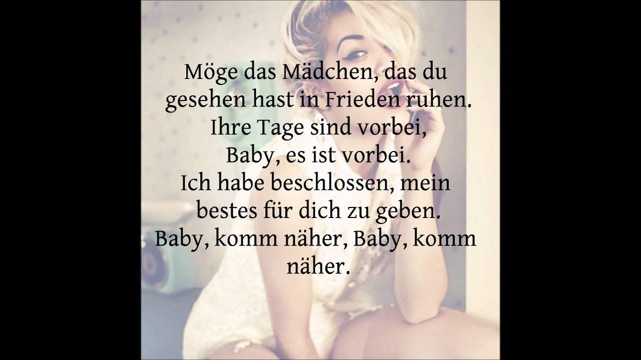 rita ora let you love me lyrics deutsch