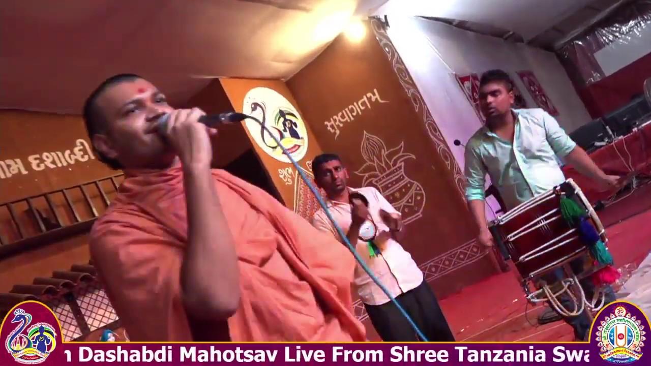 Tanzania Temple Dashabdi Mahotsav - Shreemad Satsangi Bhushan - Day 2 Raas Utsav