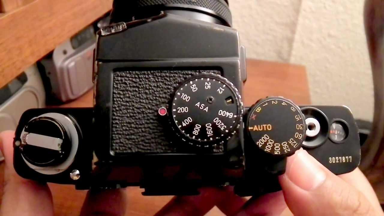 minolta xk slr mf 35mm film youtube rh youtube com Minolta XK Screen App Minolta XK Motor