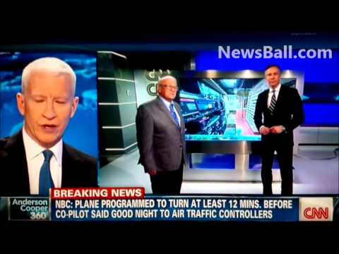 EPITOME OF SCARED VANILLA MASS MEDIA - Anderson Cooper's lame assurance - Missing Malaysia Airplane