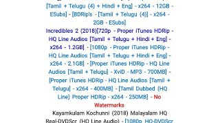 How to download movies from tamilrockers