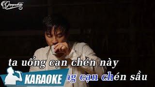 [KARAOKE] Cạn Chén Tình Sầu - Quang Lập BEAT TONE NAM