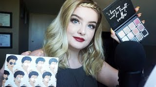 Chit-Chat GRWM! Kylie x Kris Kollection (ASMR) Whispers, Gum Chewing