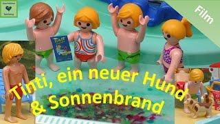 Playmobil Film Deutsch TINTI, SONNENBRAND, NEUER HUND ♡ EXTRA LANG Playmobil Geschichte
