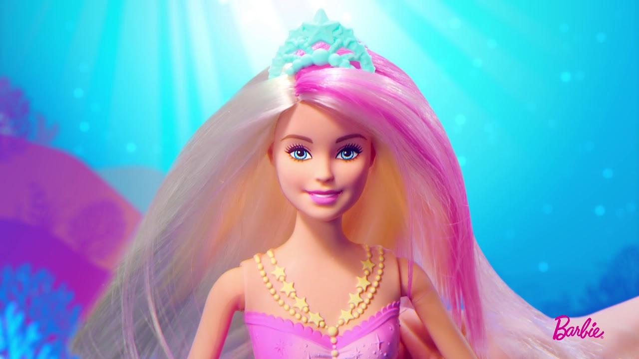 Barbie sir ne lumi res et danse aquatique gfl82 youtube - Barbie sirene magique ...