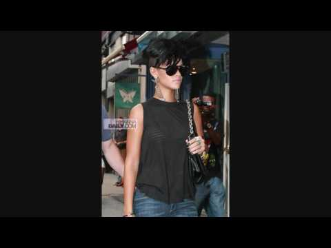 Rihanna's new Haircut