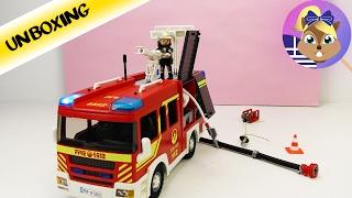 Playmobil City Action | Σετ παιχνιδιού :Πυροσβεστικό όχημα!