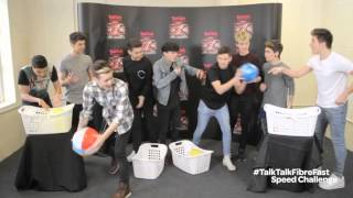 The X Factor Live Tour 2015: #TalkTalkFibreFast Speed Challenge with Stereo Kicks