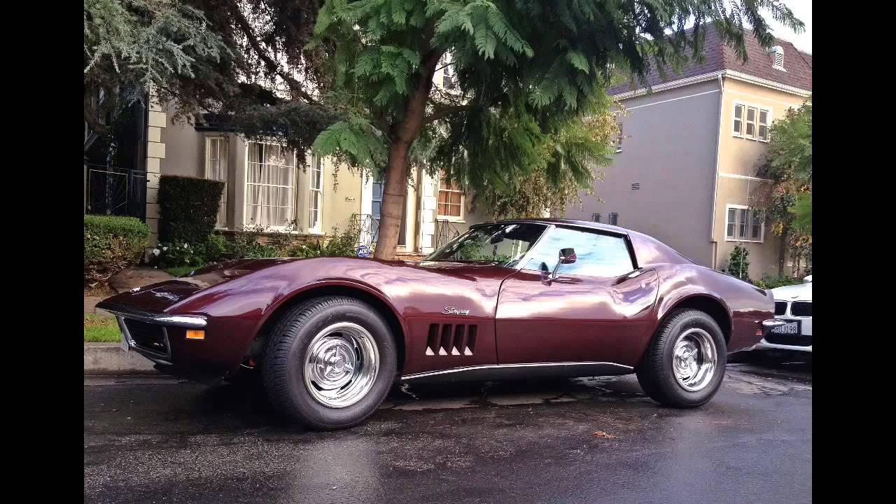 1969 Corvette Stingray >> 1969 Corvette Stingray Big Block - YouTube