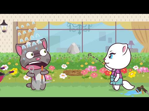 Talking Tom and Friends Minis - Episodes 17-20 Binge Compilation