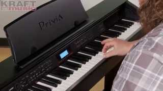 Download Kraft Music - Casio Privia PX-780 Digital Piano Demo with Adam Berzowski MP3 song and Music Video