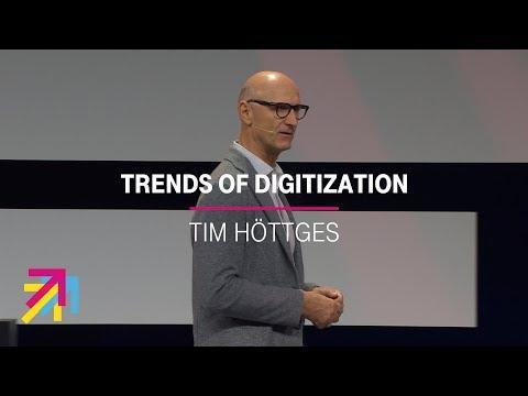 Social Media Post: Tim Höttges about digitization| Digital X, 29.10.2019