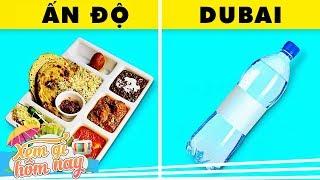 Cầm 20k đi vòng quanh thế giới ăn được gì? Ở Dubai còn không đủ chai nước lọc