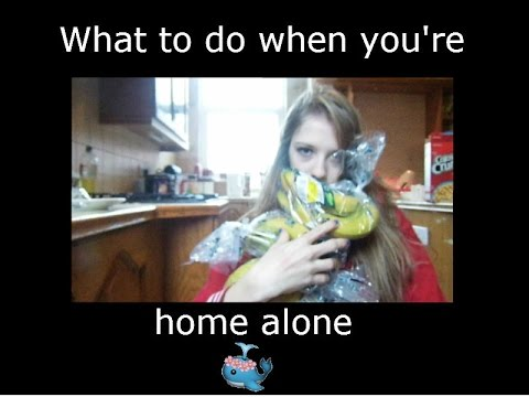 what to do when u are alone