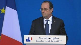 Fransa Cumhurbaşkanı Hollande seçimlerde hangi adayı destekleyeceğini henüz açıklamadı