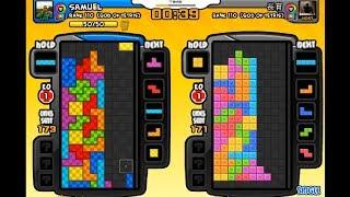 Gambar cover Tetris Battle: Samuel vs 長育 [TW] (10 games) 3rd Nov 2018