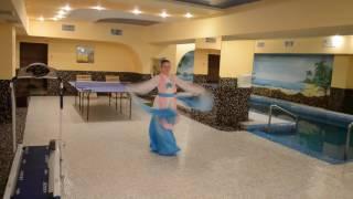 Девишник  в сауне, китайская тема девишника - китайский танец :)