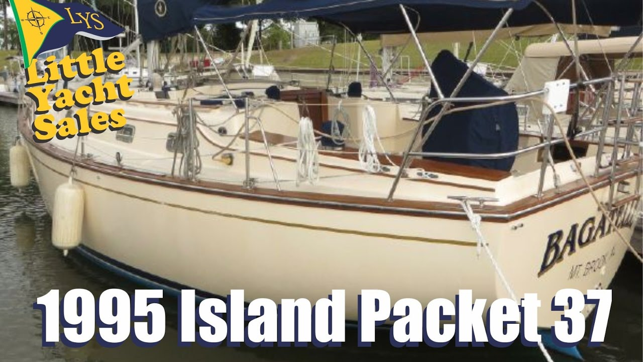 1995 Island Packet 37 Sailboat For Sale At Little Yacht Sales Kemah