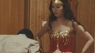 Japan AV Clip : Heroine Wonder Woman smashed plot of alien