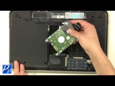 Dell Inspiron 15R (5520 / 7520) Hard Drive & Caddy Replacement Video Tutorial