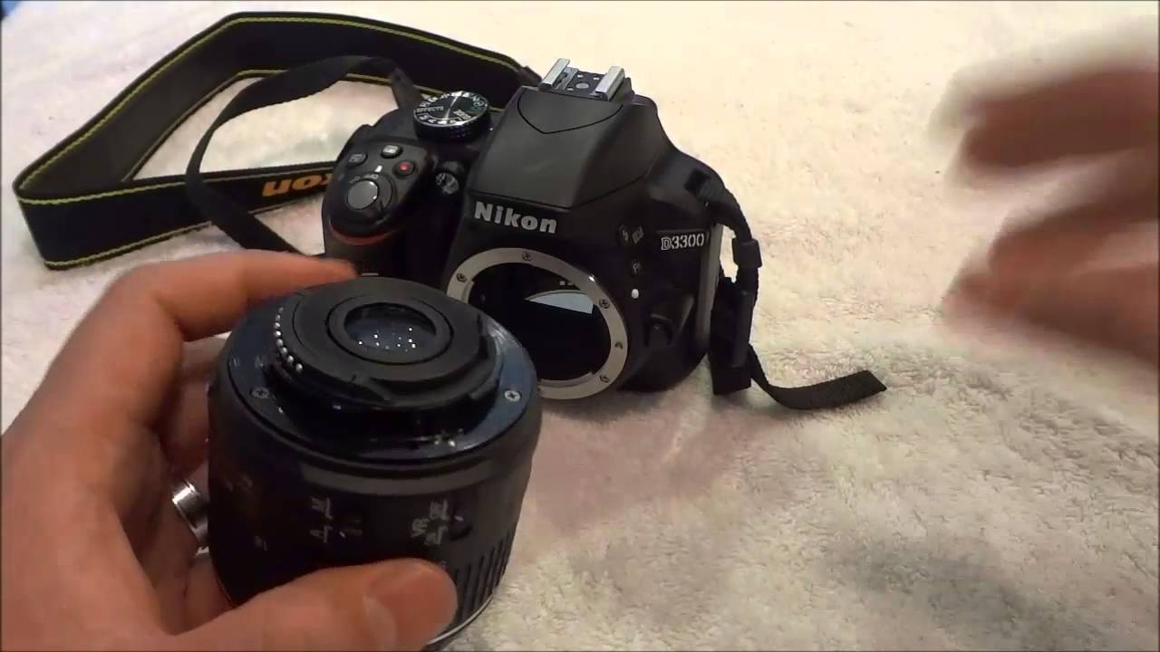 How to remove the lens