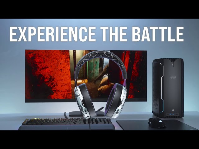 CORSAIR HS60 HAPTIC Gaming Headset - Sound You Can Feel