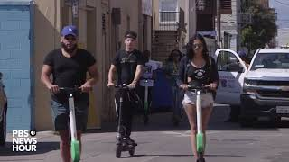 Where the rubber hits the road when it comes to electric scooters