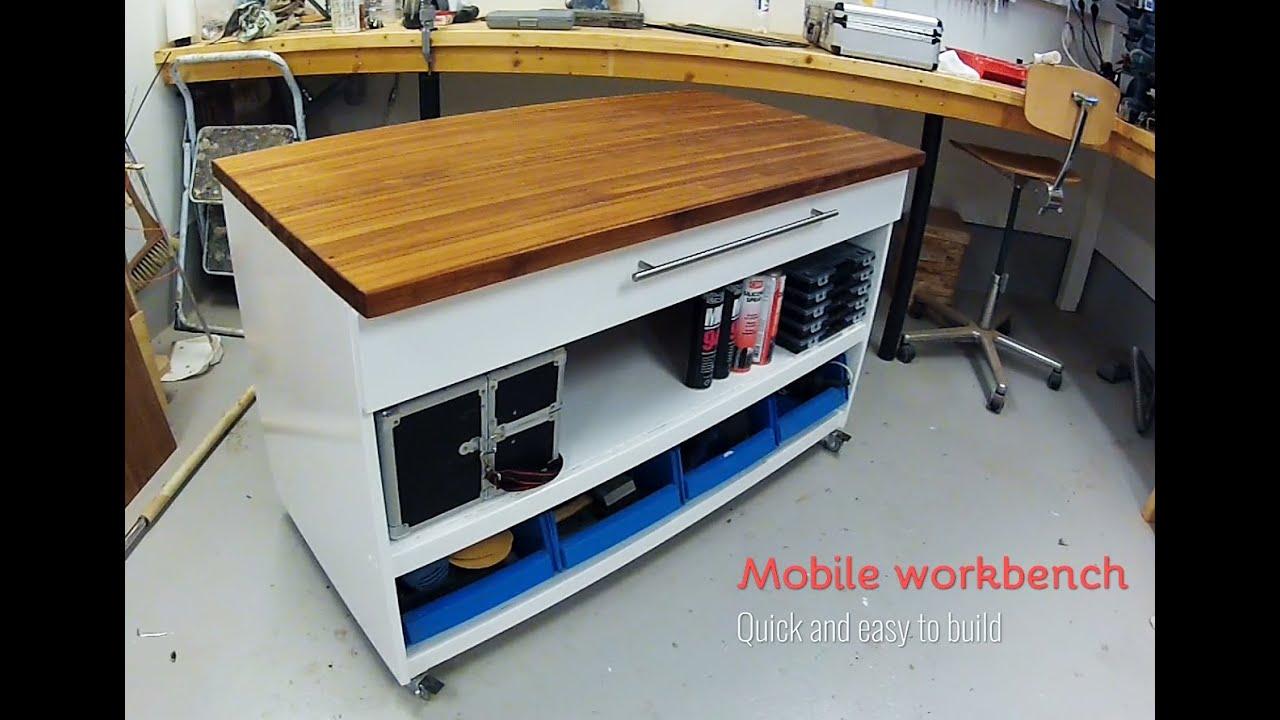 Mobile Workbench Diy