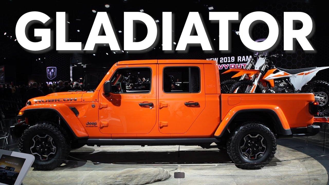 2019 Detroit Auto Show: 2020 Jeep Gladiator | Consumer ...
