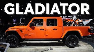2019 Detroit Auto Show: 2020 Jeep Gladiator | Consumer Reports