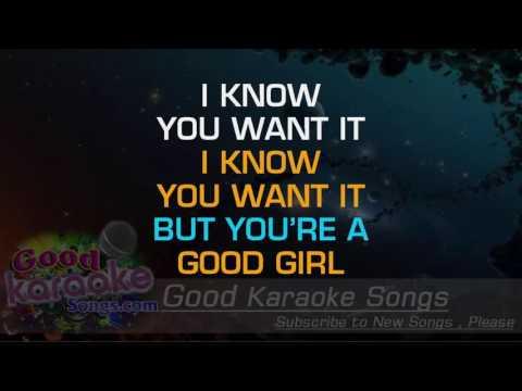 Blurred Lines -  Robin Thicke (Lyrics Karaoke) [ goodkaraokesongs.com ]