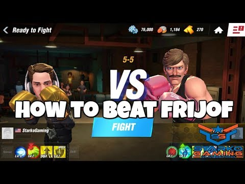 How To Beat Fritjof | Boxing Star