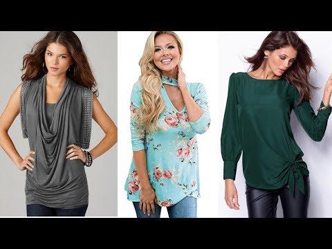Blusas Largas ELEGANTES Y BONITAS Para Señoras / Fashion Love